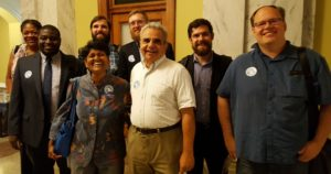 DC4D members showed up in force to support the Fair Elections Act of 2017 at the June 29 DC Council Hearing.