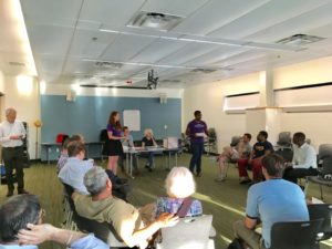 Presentation from NARAL Pro-Choice America and Virginia before the DC4D VA endorsement vote.