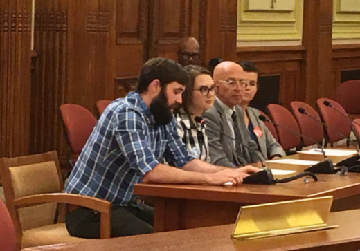Communications Chair Zach Schalk Testifies in favor of Fair Elections Act at DC Council Hearing on June 29